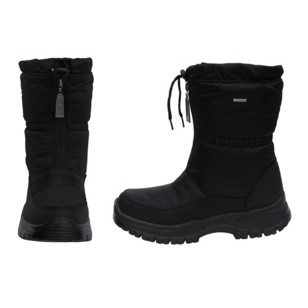 Women;s Cheyenne Black Waterproof Winter Boots | Homewood Mountain ...